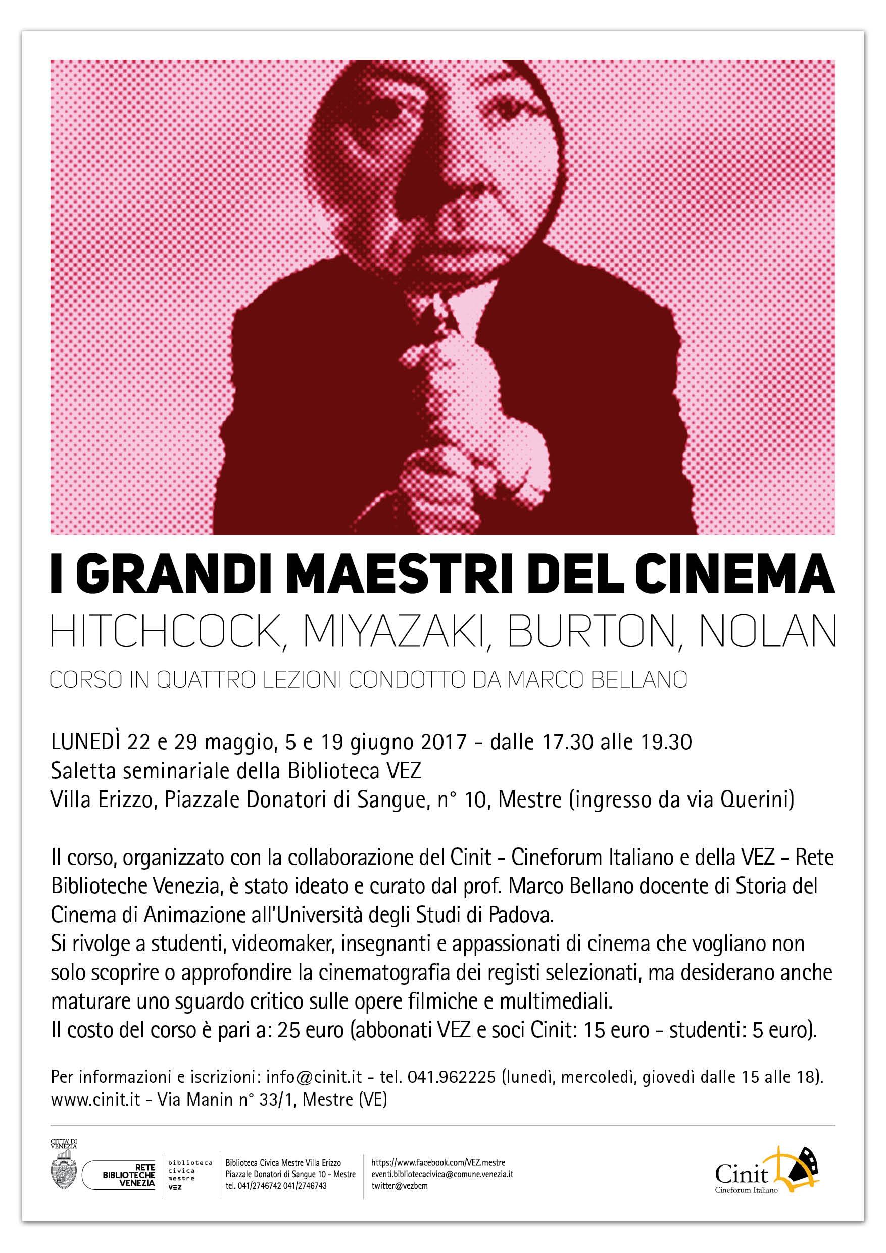 I GRANDI MAESTRI DEL CINEMA