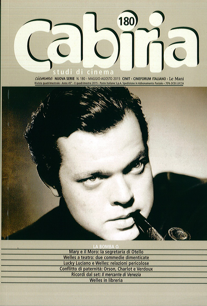 CABIRIA – STUDI DI CINEMA 180