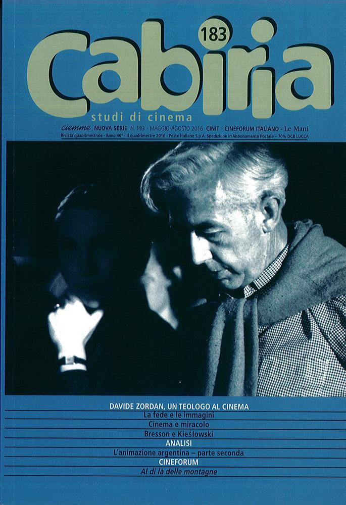 CABIRIA – STUDI DI CINEMA 183
