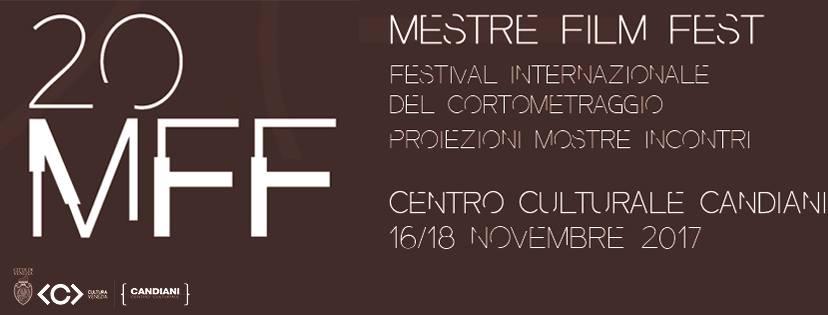 """""""Mestre Film Fest"""" compie 20 anni: dal 16 al 18 novembre torna al Centro culturale Candiani il festival internazionale del cortometraggio con il premio Cinit Videoforkids"""