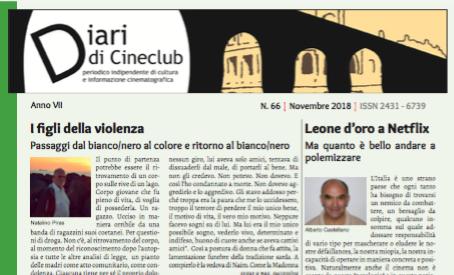 DIARI DI CINECLUB N° 66 – NOVEMBRE 2018