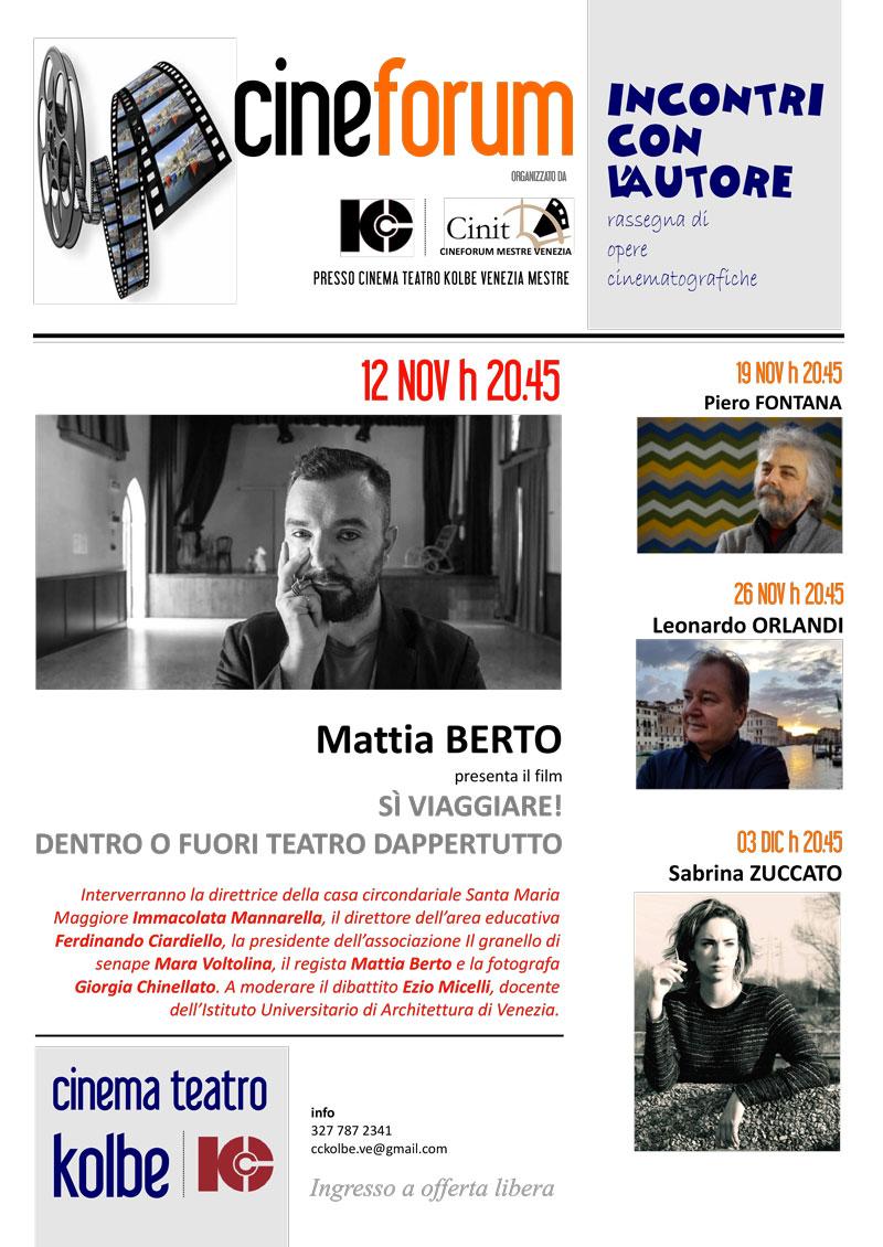 cinema teatro kolbe locandina