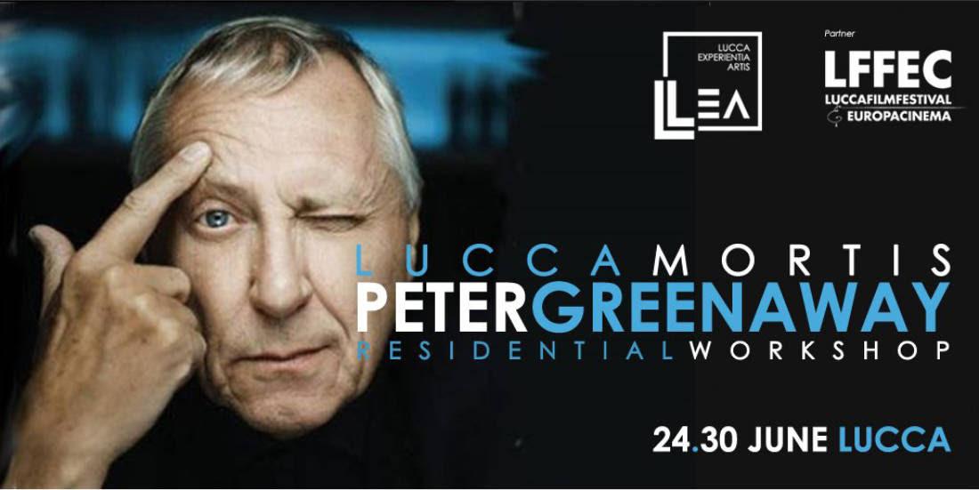 LUCCA MORTIS: DAL 24 AL 30 GIUGNO PETER GREENAWAY A LUCCA CON UN WORKSHOP SUL SUO PROSSIMO FILM