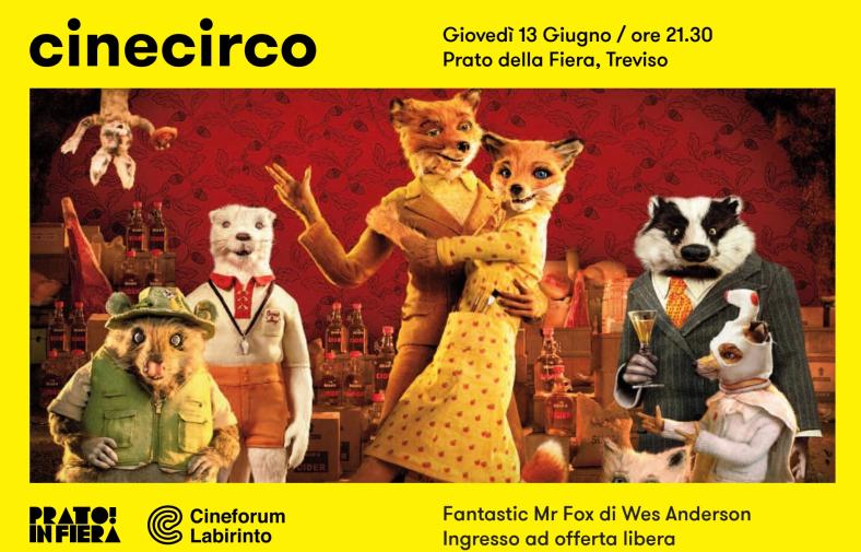 Con il Cinecirco Cineforum Labirinto apre un mini ciclo di proiezioni estive a Treviso