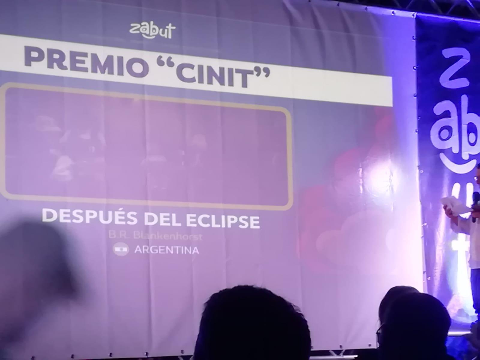 """A """"Despuès del eclipse"""" di B.R. Blankenhorst (Argentina) il Premio Cinit , assegnato nell'ambito della 5aedizione di ZABUT – International Animated Short-film Festival"""
