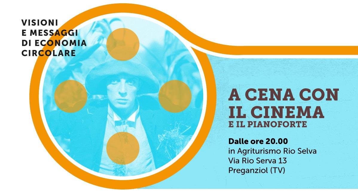 """""""A CENA CON IL CINEMA"""". Proiezioni emusica dal vivo a Rio Selva"""