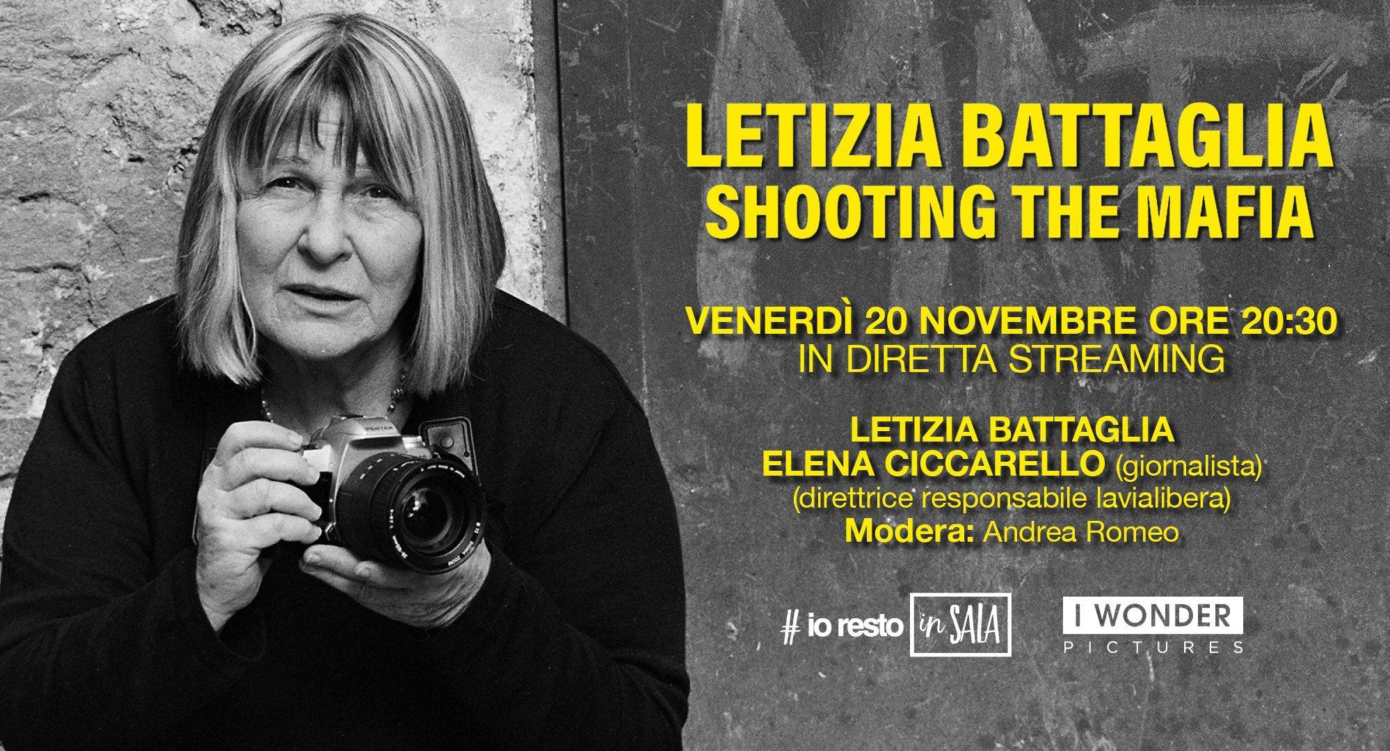 """""""Letizia Battaglia-Shooting – the mafia"""" su www.iorestoinsala.it"""