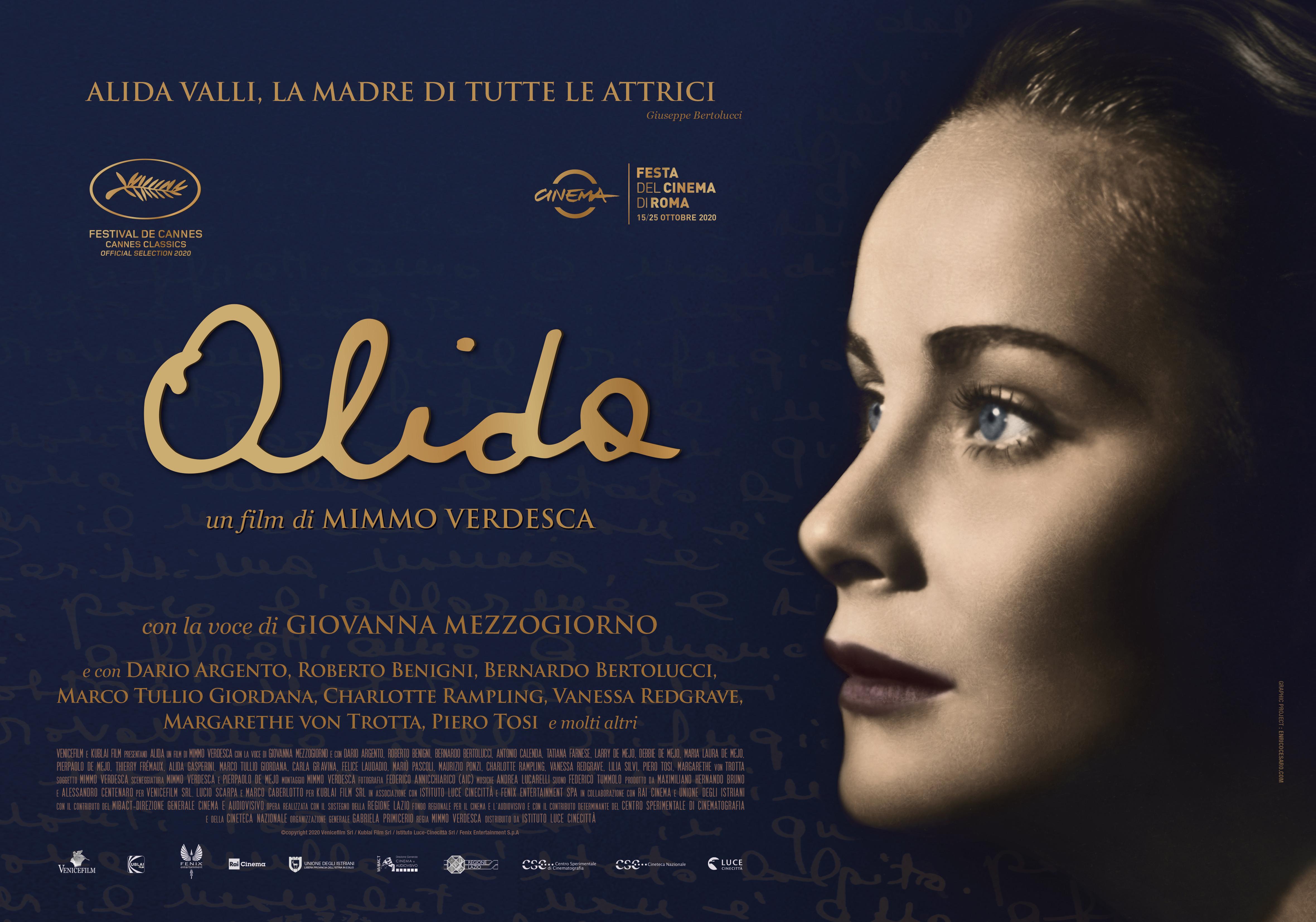 """Proiezione del film """"Alida"""" al Rossini di Venezia"""