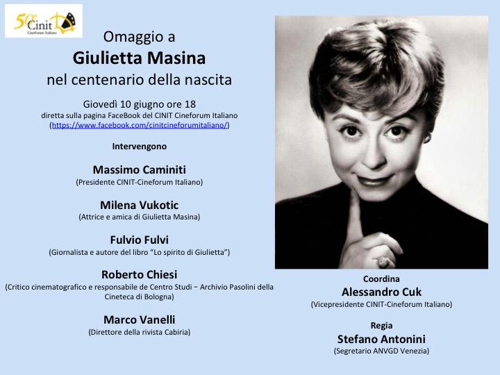 Omaggio a Giulietta Masina, l'anti-diva del cinema italiano, a 100 anni dalla nascita