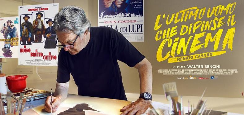 """Cineforum Labirinto 3/ L'artista trevigiano Renato Casaro, protagonista del film """"L'uomo che dipinse il cinema"""""""